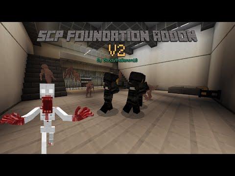 SCP Foundation Add-on Teaser Trailer 2 | MCPE  [MCBE] Minecraft