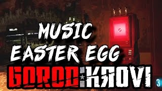 Black Ops 3: Zombies: 'Gorod Krovi' MUSIC EASTER EGG Tutorial!