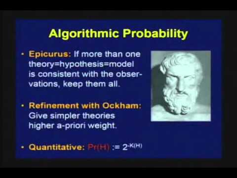 Marcus Hutter: Foundations of Intelligent Agents