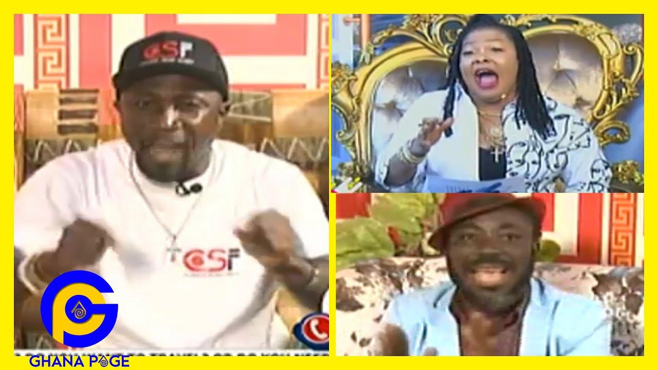 🔥Avraham Ben Moshe ST0RMS Agradaa's TV Station;drops more sɛcrets on God Vrs Gods