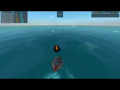 From the Depths, Tiny Ship Tournament. Fight 5: CptIronlad vs Alex248 |