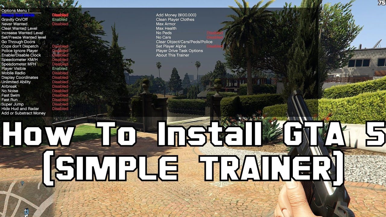 """- How To Install & use GTA 5 (SIMPLE TRAINER) <p>Download How To Install & use GTA 5 (SIMPLE TRAINER) for FREE 1)ytcfg.d()]=a;else for(var k in a)ytcfg.d()=a}}; window.ytcfg.set('EMERGENCY_BASE_URL', '/error_204?tx3djserrorx26levelx3dERRORx26client.namex3d1x26client.versionx3d2.20210125.08.03');]]>=5)return;window.unhandledErrorCount+=1;window.unhandledErrorMessages=true;var img=new Image;window.emergencyTimeoutImg=img;img.onload=img.onerror=function(){delete window.emergencyTimeoutImg}; var combinedLineAndColumn=err.lineNumber;if(!isNaN(err))combinedLineAndColumn+="""":""""+err;var stack=err.stack