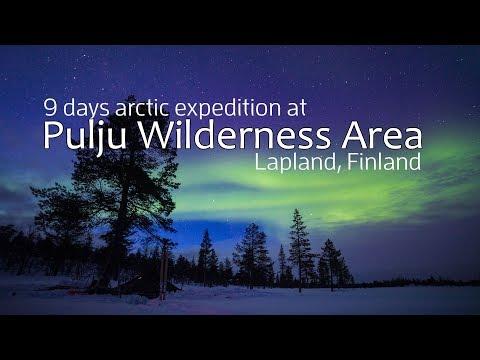 9 Days Arctic Expedition at Pulju Wilderness Area