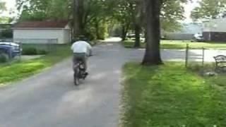 Starter motor powered bikes