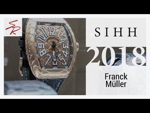 Franck Muller 2018 | New Franck Muller 2018 | Franck Muller Geneve Days 2018