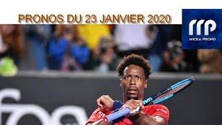 PRONOS TENNIS DU 23 JANVIER 2020 !!! PARIS SPORTIFS !!!!