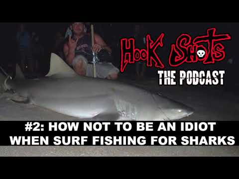 The Hook Shots Podcast - #2 How Not To Be An Idiot When Surf Fishing For Sharks