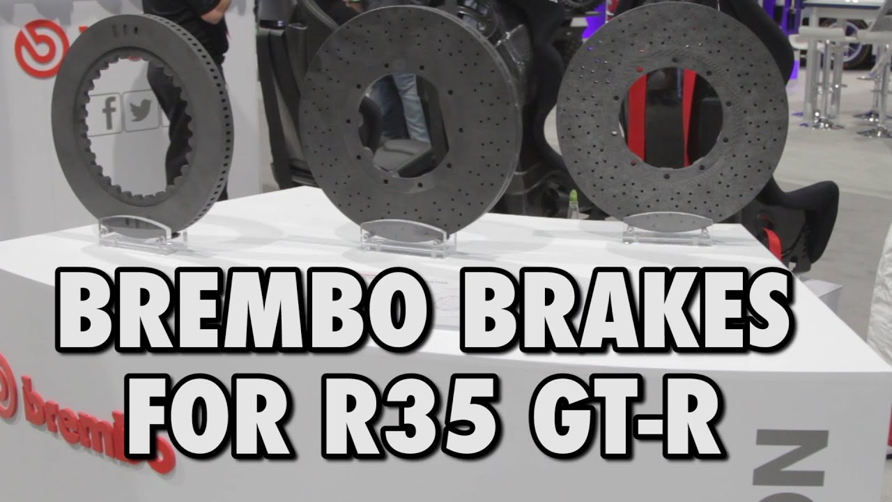 R35 Gt R Serious Stopping Power Brembo Carbon Ceramic