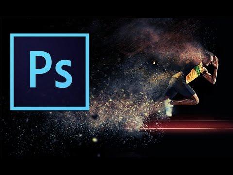 Sand Storm Effect (Disintegration) Adobe Photoshop + Action - YouTube