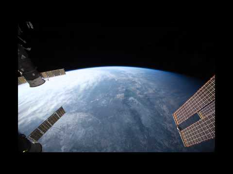Space Station View of Mongolia to Sea of Okhotsk in HD