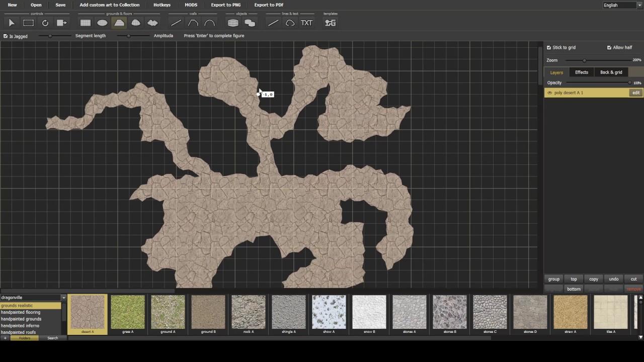 Dungeon Painter Studio - Quick caves