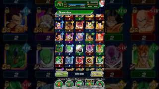 Dbz Dokkan Battle All my Characters  so far