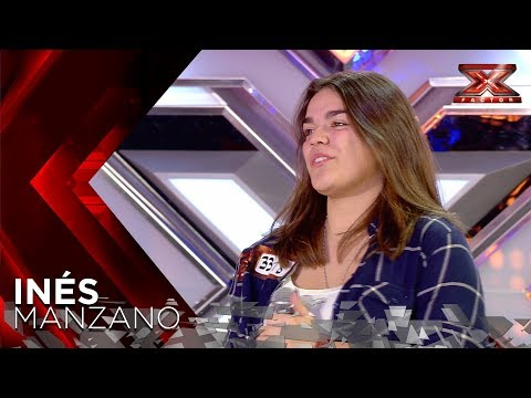 Laura Pausini estalla en l�grimas con In�s, su doble espa�ola | Audiciones 2 | Factor X 2018