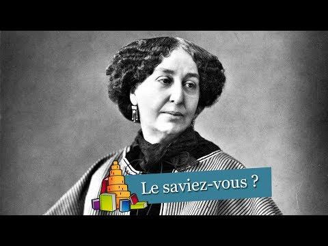 Le saviez vous ? George Sand