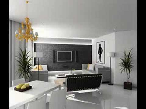Living room wallpaper design ideas - YouTube