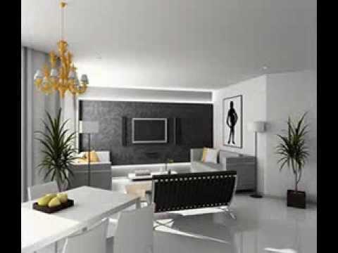 Living room wallpaper design ideas - YouTube