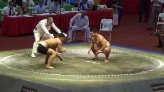 Сумо.Чемпионат мира по Сумо 2014 ( JPN vs. RUS)