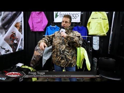 5163e094e78cb Frogg Toggs Pro Action Realtree Max 5 Rain Jacket and Rain Pants Camouflage  - YouTube