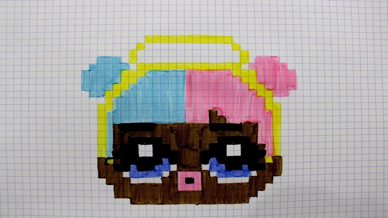 Pixel Art Poupée Lol Sugar