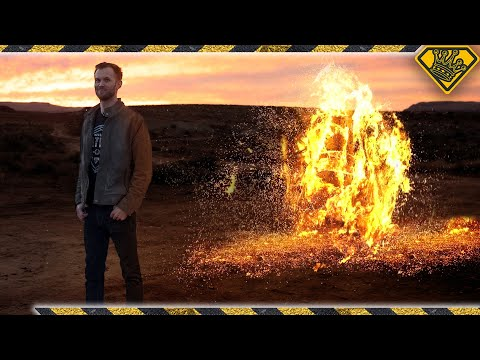 What Happens When You Burn 500 Steel Wool Pads?