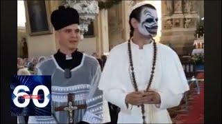 """Pussy Riot по-литовски: комики провели """"рекламную мессу"""" в польском костеле"""