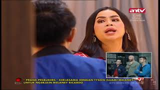 Prank Melaney Richardo! Pesbukers ANTV Eps 40 12 April 2019 Part 3