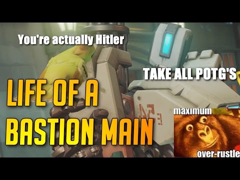 Overwatch - Life of a Bastion Main