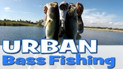 Urban Bass Fishing in Orlando Florida - Lake Underhill Orlando Fab 5 Bass Fishing Lake