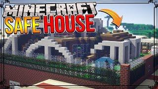 SAFEST REDSTONE HOUSE IN MINECRAFT! (40+ Redstone Security Defences)