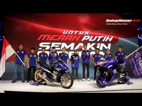 Launching Tim Yamaha Indonesia 2018 Dihadiri Rossi & Vinales