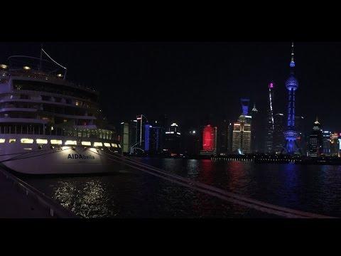AIDAbella Bangkok nach Shanghai 2017 (Best of Asia, Ex-Ciao bella)