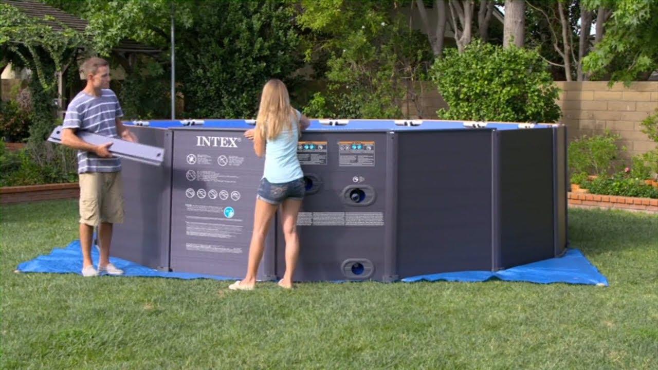 guide intex installation piscine graphite intex