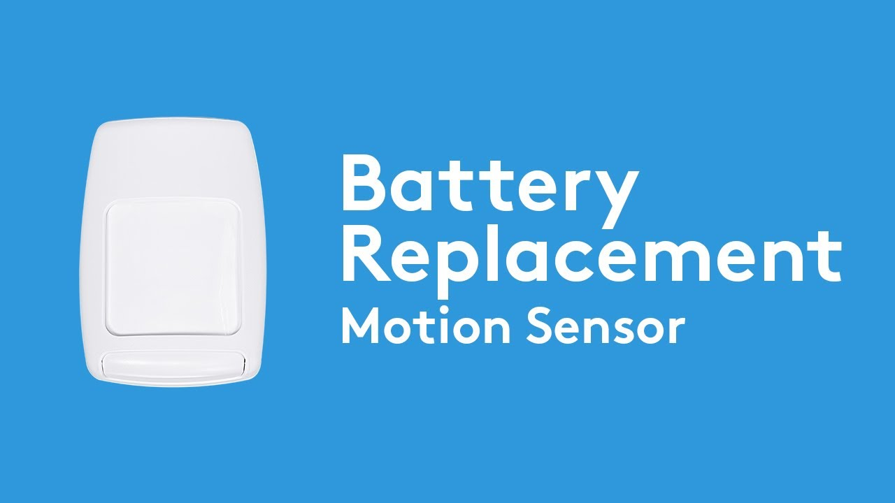 How To Change The Battery In Your Motion Sensor Adt Youtube
