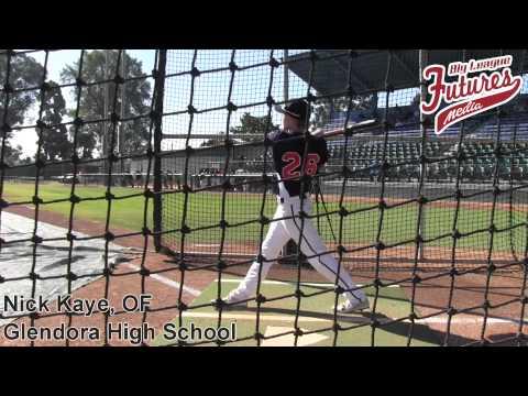 Nick Kaye Prospect Video, OF, Glendora High School Class of 2015 Jesse Flores Memorial