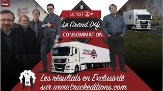 Le Grand Défi Truckeditions Consommation MAN TGX 480