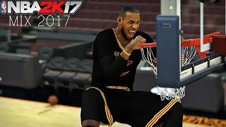 Nba 2k17 lebron james dunk's (mix 2017)