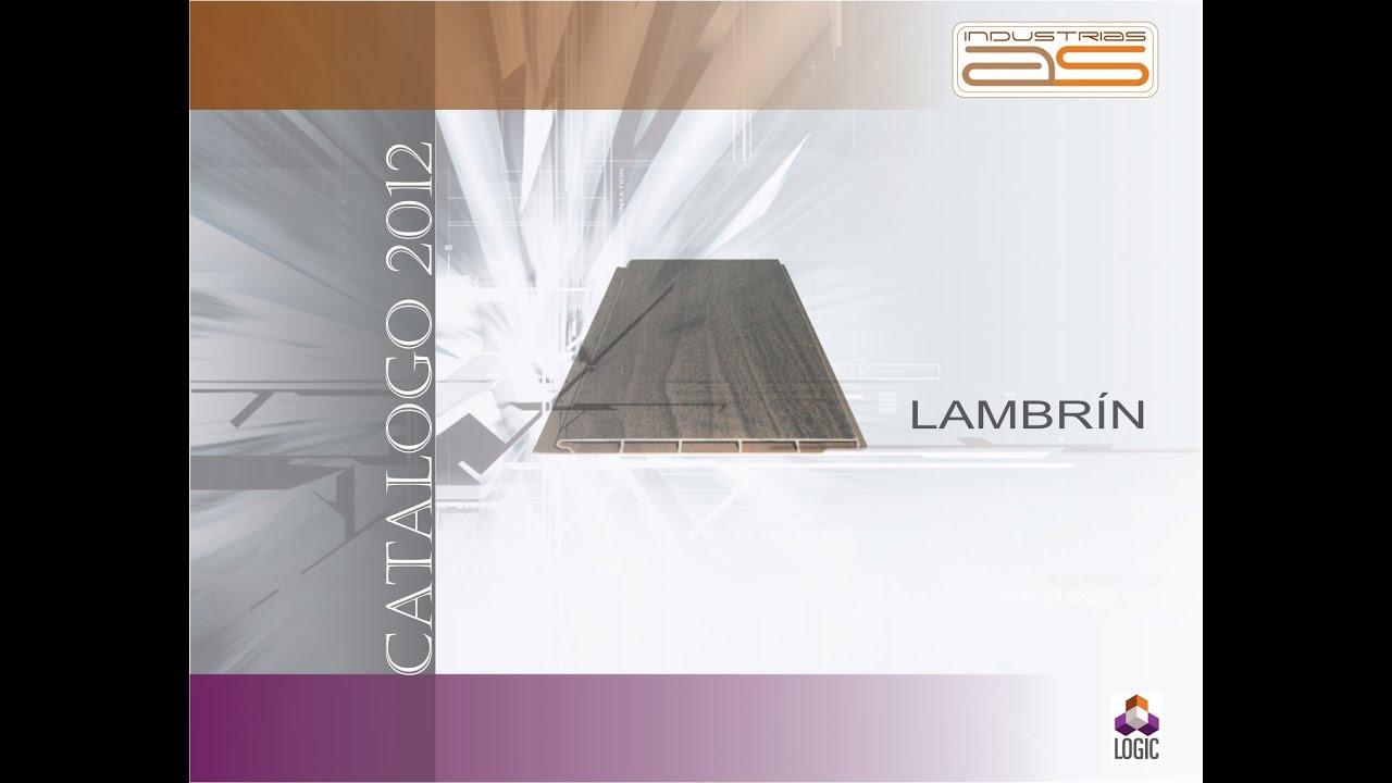 INSTALACION DE LAMBRIN Y PLAFON LOGIC PARA RECUBRIMIENTOS