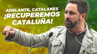 Las piedras que nos lanzan servirán para construir una Cataluña próspera