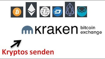 Kraken - Kryptowährungen auf ein externes Wallet senden