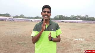 1600m Running Techniques | In Telugu | By Harin Rao
