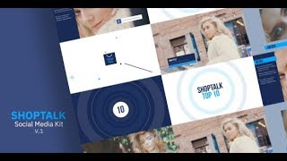 ShopTalk Social Media Kit | After Effects template