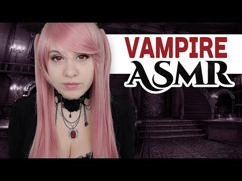 Cosplay ASMR - Vampire Girl Roleplay - The Secret Side of Rose - ASMR Neko