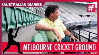 #fame cricket - The Melbourne Cricket Ground -​​ #AustraliaDiaries with Harsha Bhogle