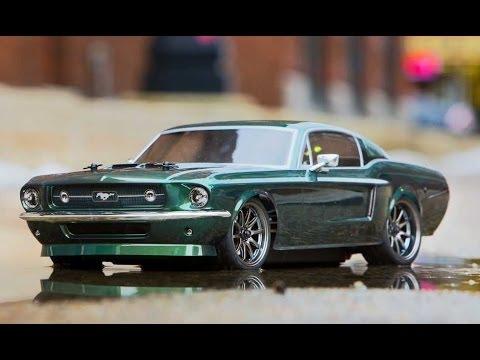 Vaterra V100 1967 Ford Mustang Rtr Unboxing Vtr03017 Youtube