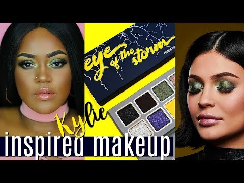 KYLIE COSMETICS THE WEATHER COLLECTION PROMO INSPIRED MAKEUP thumbnail