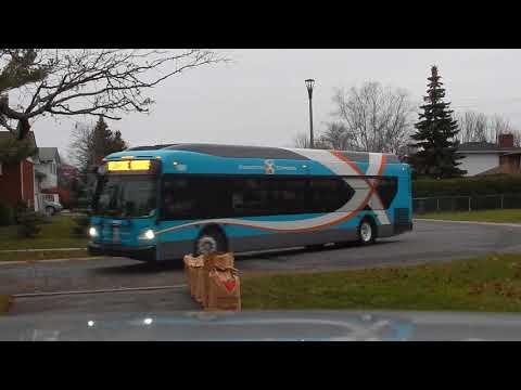 Kingston Express on non-express route November 18, 2017