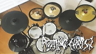 ROTTING CHRIST drum cover - Fire God and Fear (The Heretics 2019 NEW)