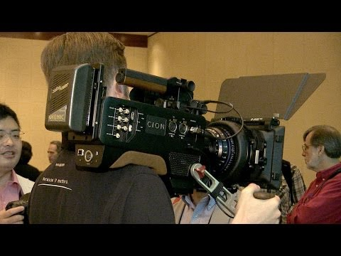 NAB2014: AJA Cion 4K camera