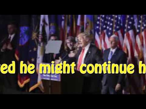 Donald Trump plans 'victory tour'