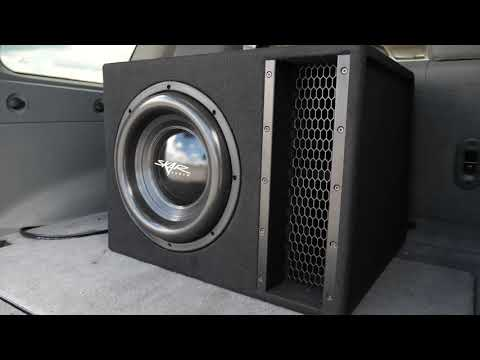 Skar Audio 2,500 Watt EVL-1X12D2 Single 12-inch Loaded Subwoofer Enclosure Demo!!